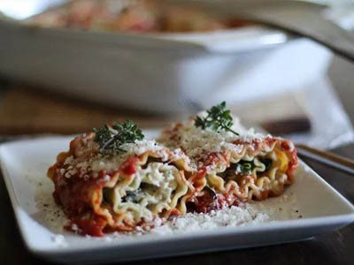 Dive into the Aroma of Lasagna and Portobello